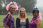 Cath - Lady Captain's Day - 'wear something purple'