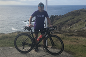 Gareth - John o' Groats to Land's End cycle ride