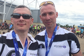 Phil & Andrew - Tour of Cambridgeshire Cycle Ride