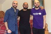 Ryan, Haroon and Tevfik - Sponsored head shave