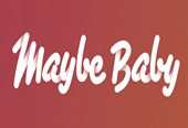 Maybe Baby logo (website news)